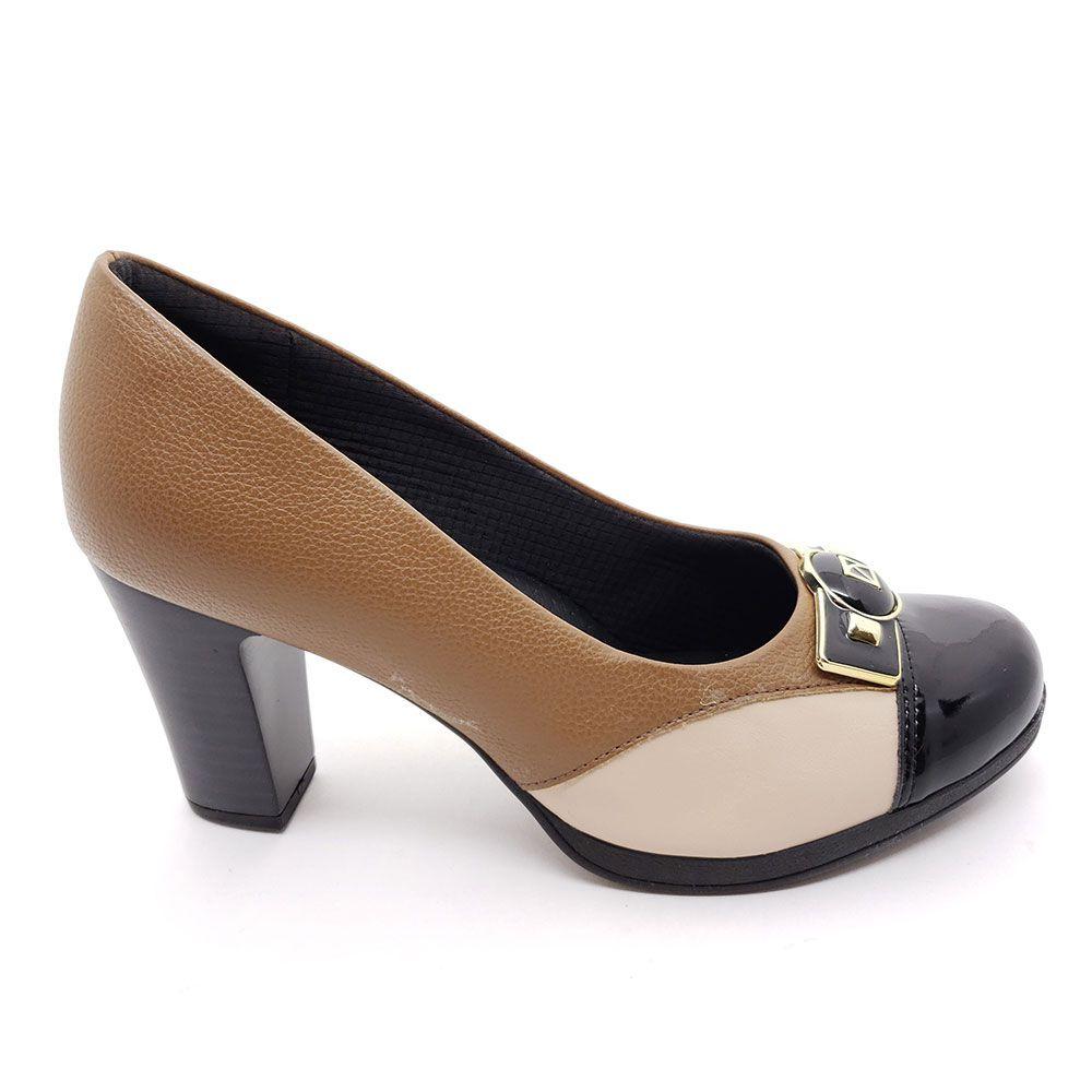 Sapato Piccadilly Linha Joanete Super Conforto - 131083