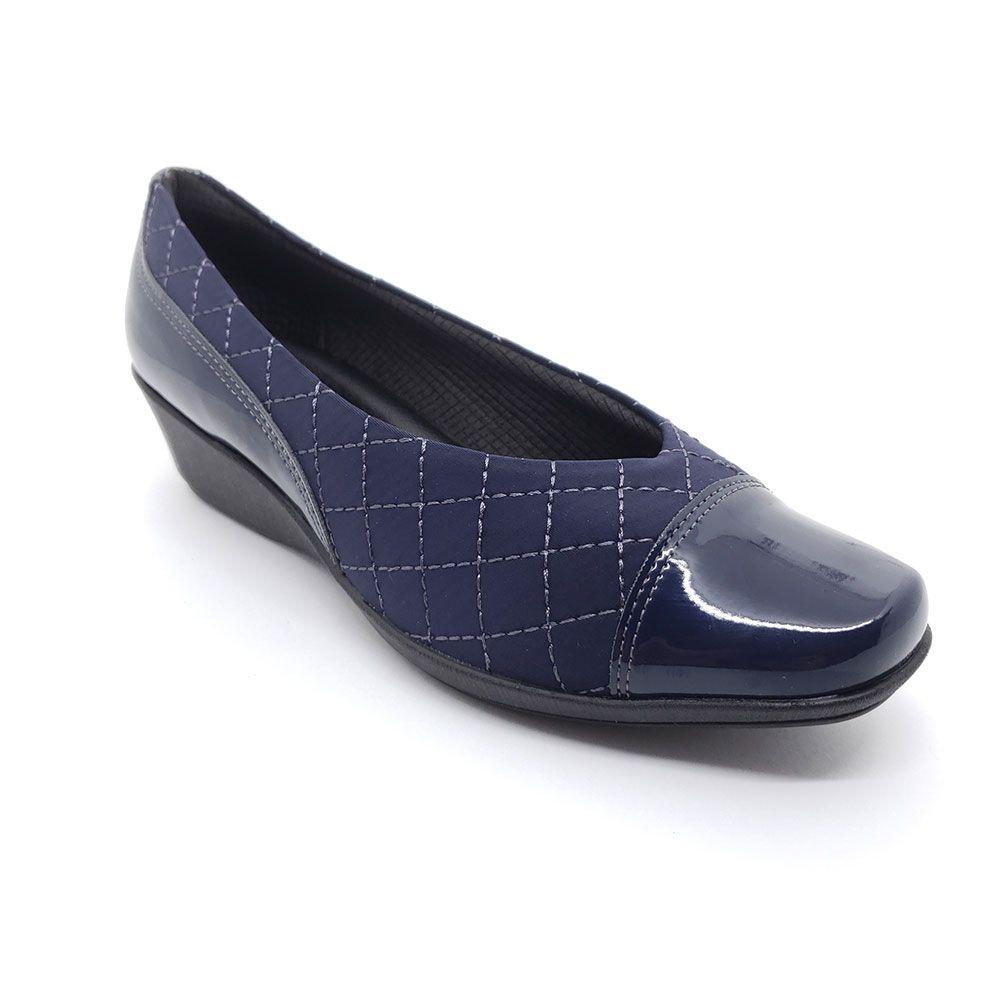 Sapato Anabela Piccadilly Lycra - 144049