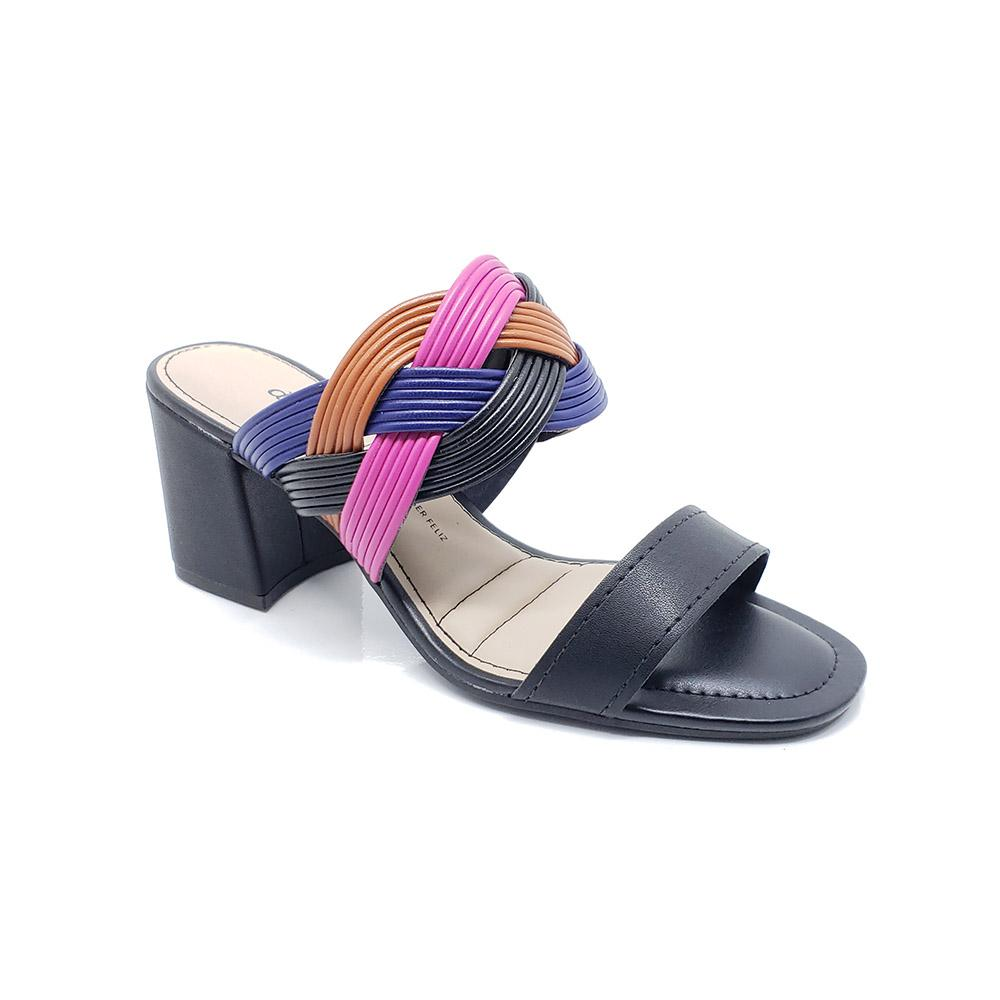 Sandália Dakota Mule Tiras Trançada Z8711