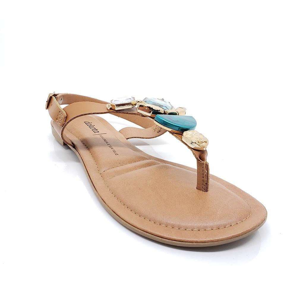 Sandália Dakota Rasteira Pedrarias Z7222