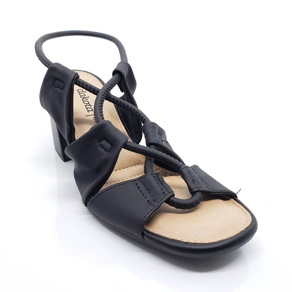 Sandália Dakota Salto Bloco Z6981