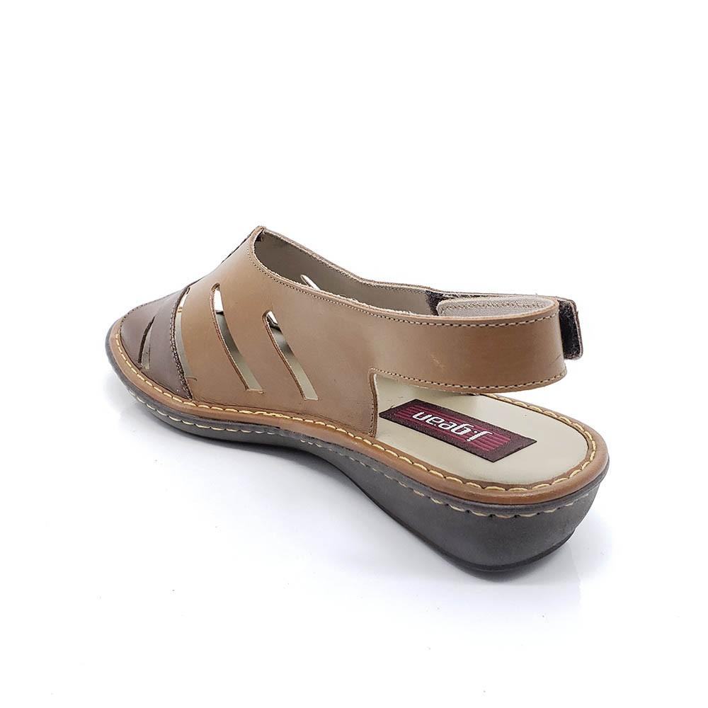 Sandália J Gean Couro EL0003