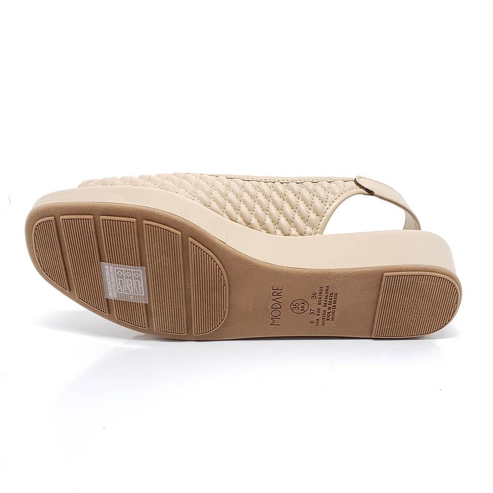 Sandália Modare Ultraconfort Flatfoarm 7150103