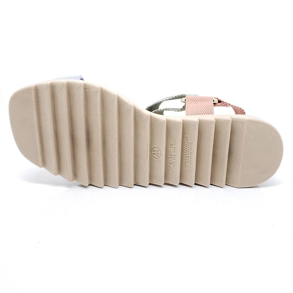 Sandália Moleca Flat Tratorada 5454101