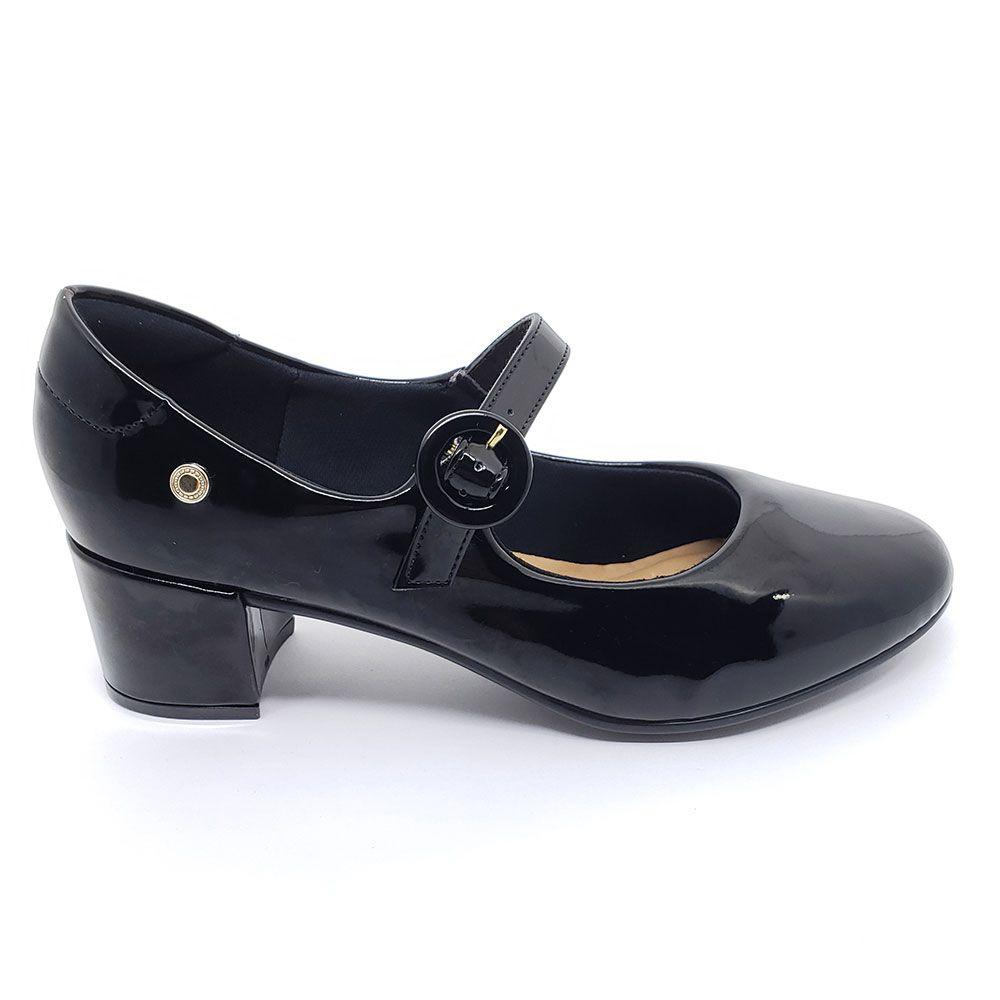 Sapato Santinelli Boneca Verniz Preto