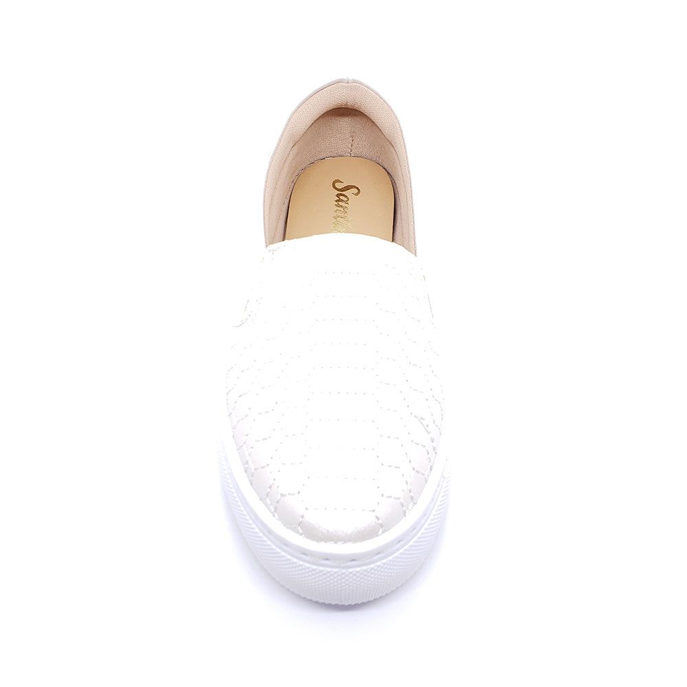 Slip On Santinelli Branco
