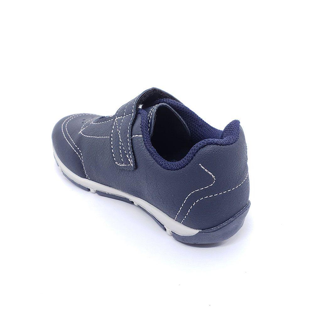 Sapatênis Infantil Klin Velcro Marinho