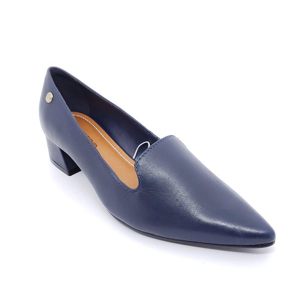 Sapato Bottero Couro Salto Baixo - 317304