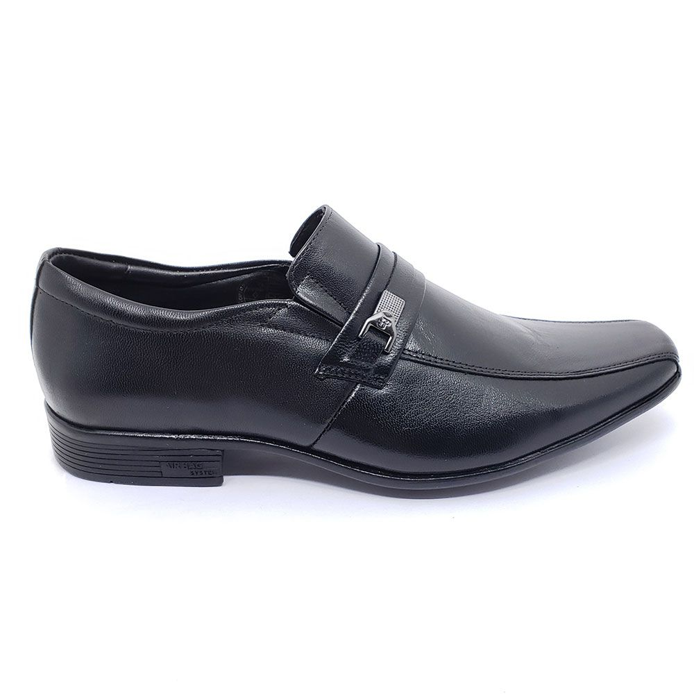Sapato Couro JotaPe Air Magic Sem Cadarço
