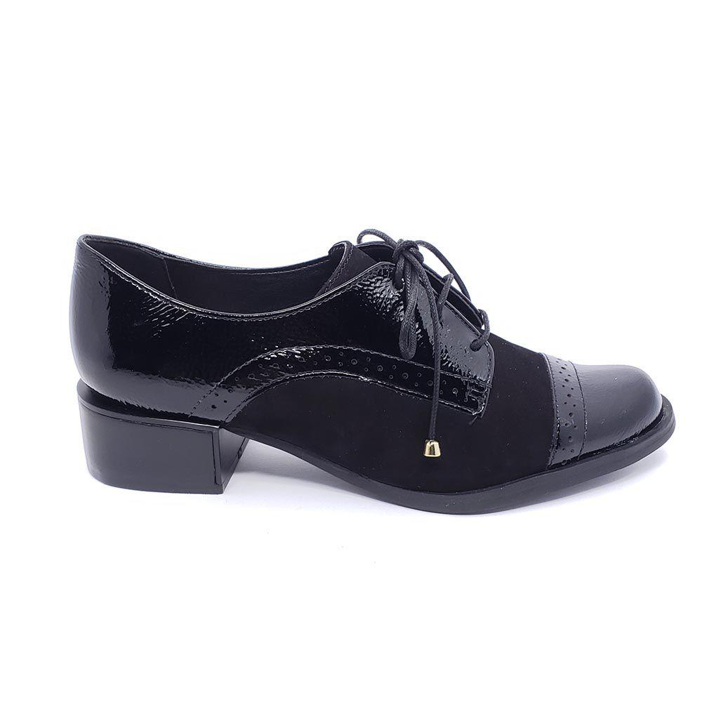 Sapato Oxford Verofatto Couro 6017328