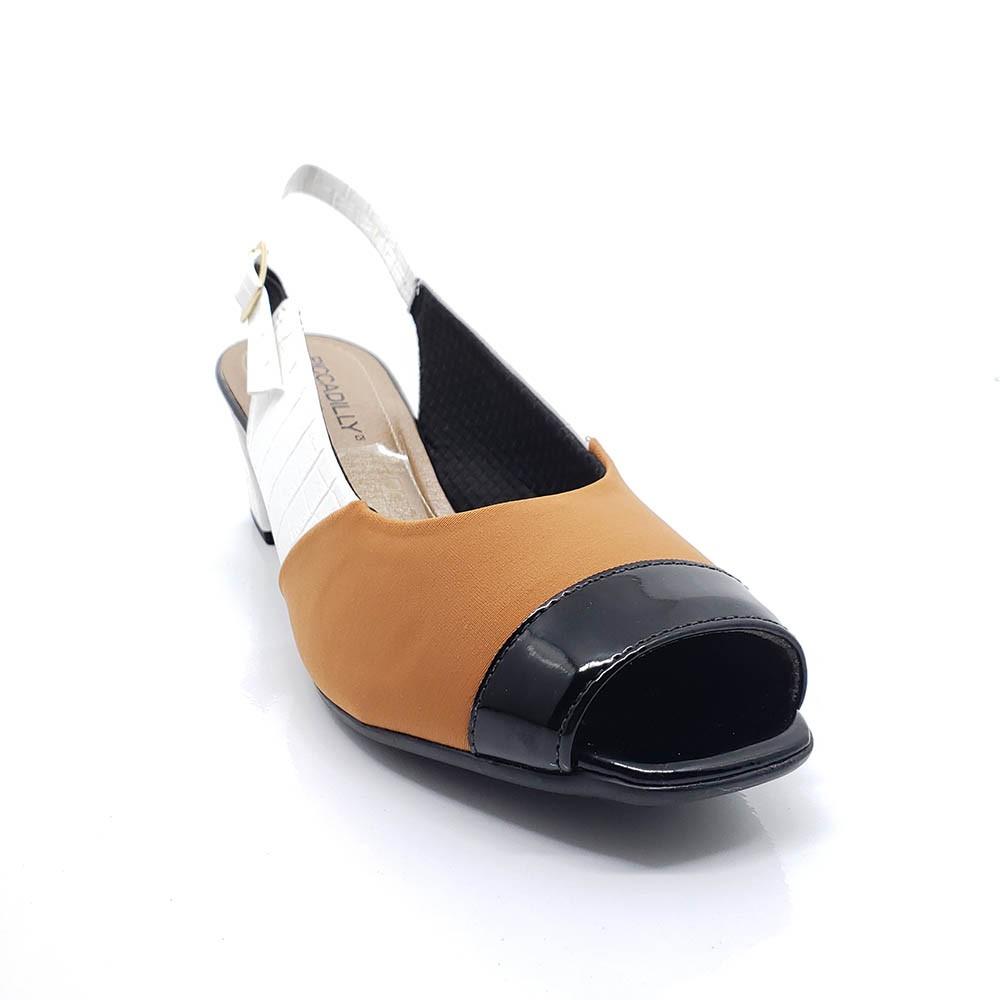 Sapato Peep Toe Conforto Piccadilly 716014