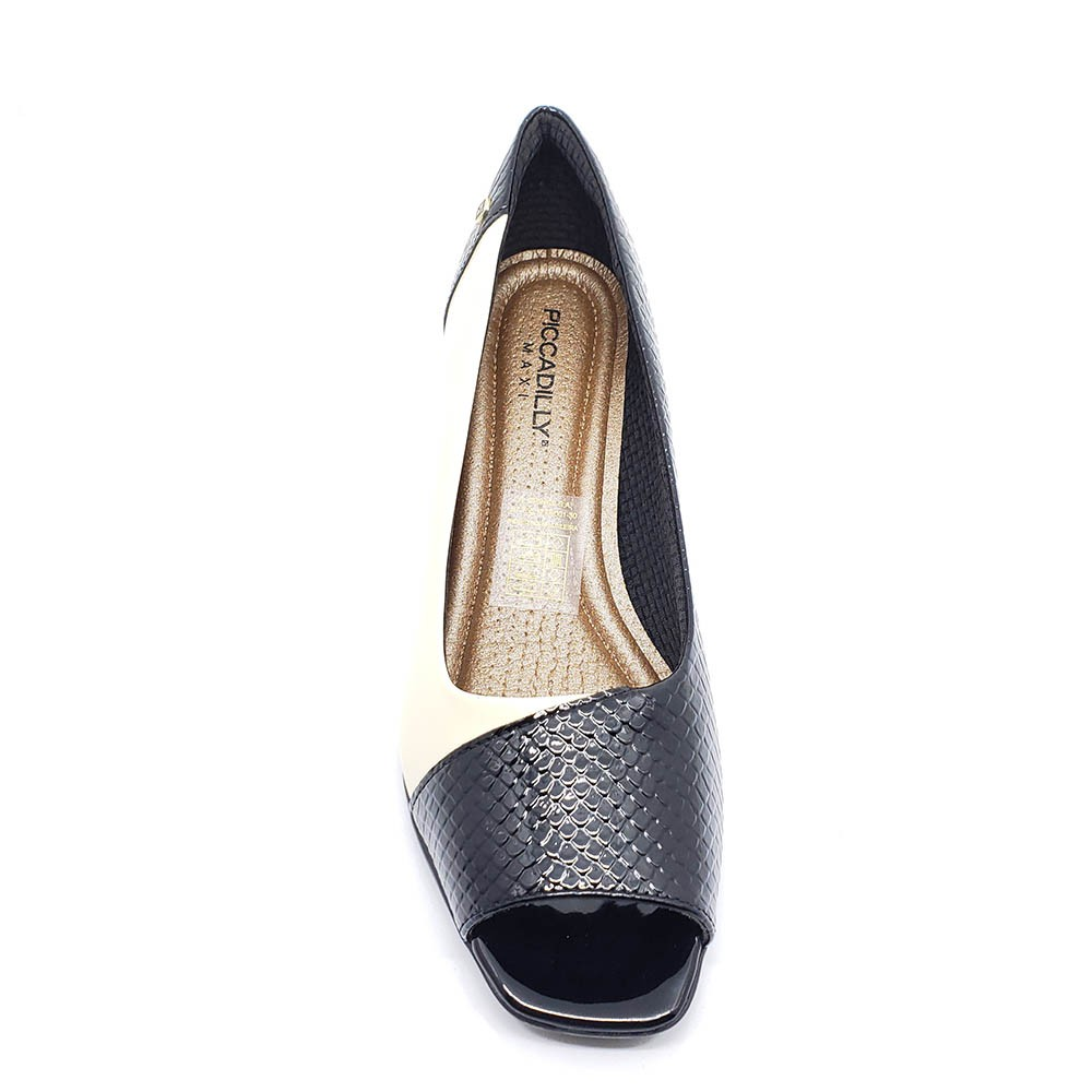 Sapato Peep Toe Piccadilly 716015