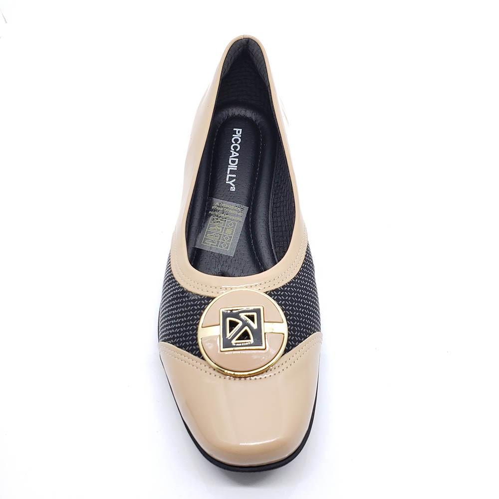 Sapato Piccadilly Anabela Maxi 144075