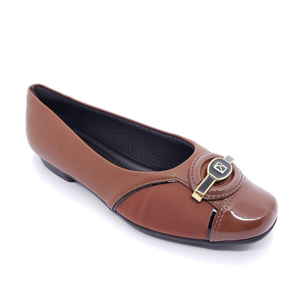 Sapato Piccadilly Salto Baixo 251072