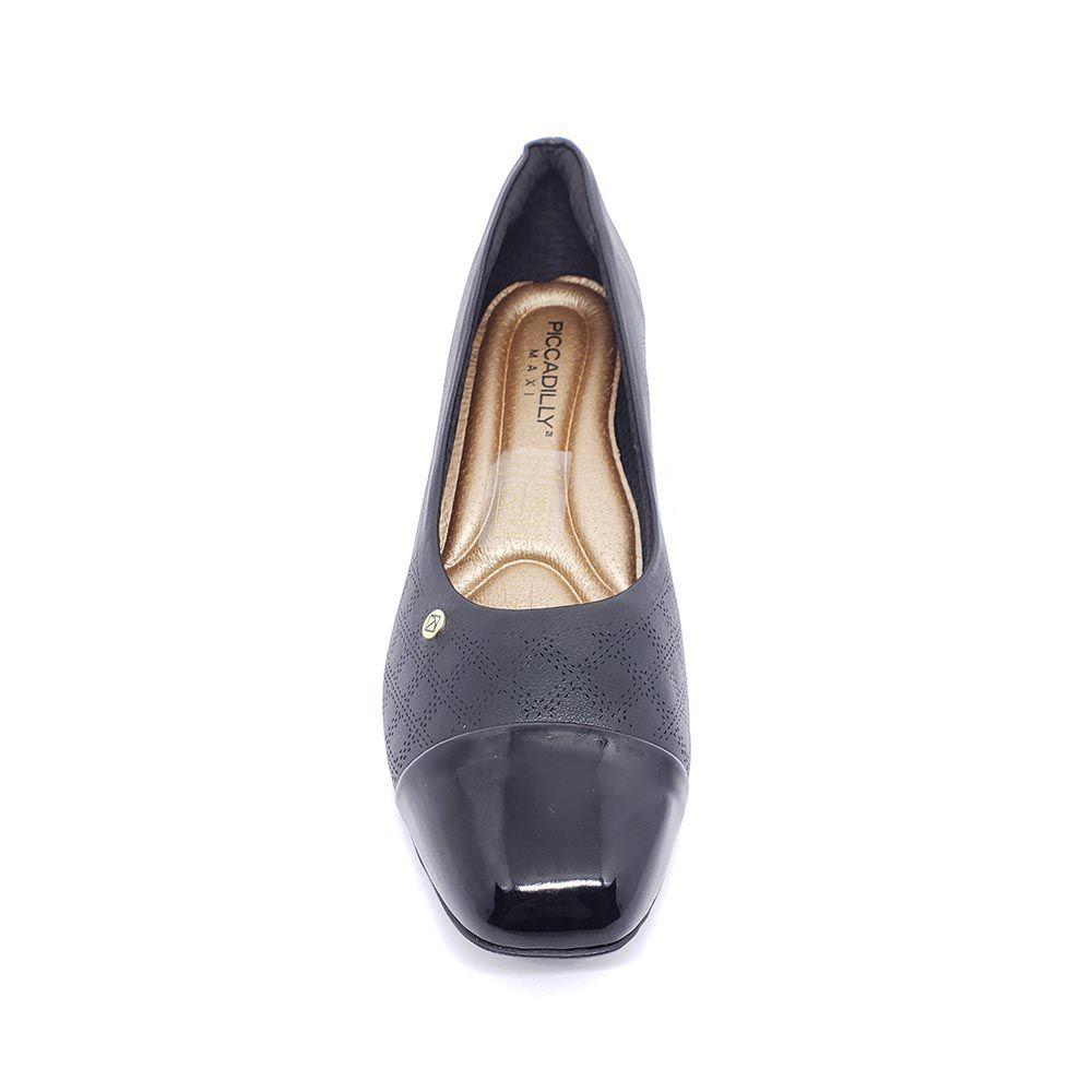 Sapato Piccadilly Salto Baixo 322020