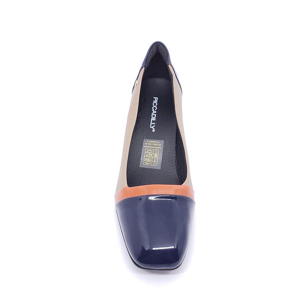 Sapato Piccadilly Tricolor 711012