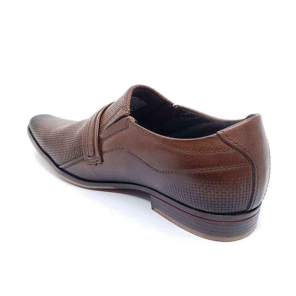 Sapato Social Pegada Couro - 122241