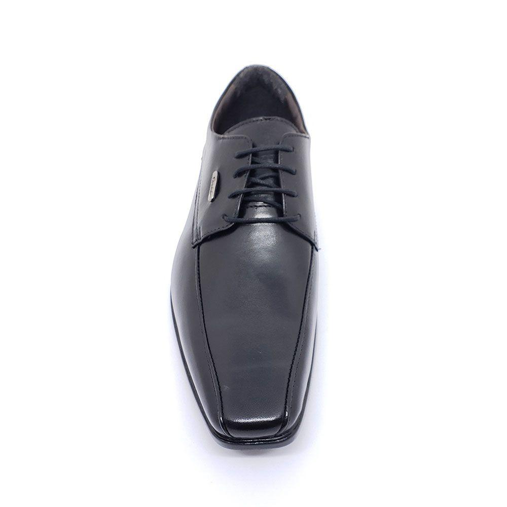 Sapato Social Sândalo com Cadarço Preto