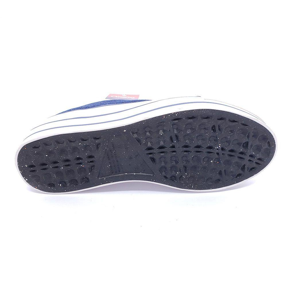 Tênis Caprinho Flatfoarm Jeans - CP0690
