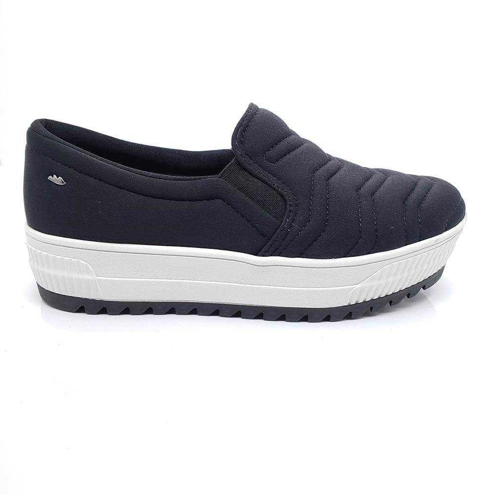 Tênis Dakota Protect Slip On Preto G3191