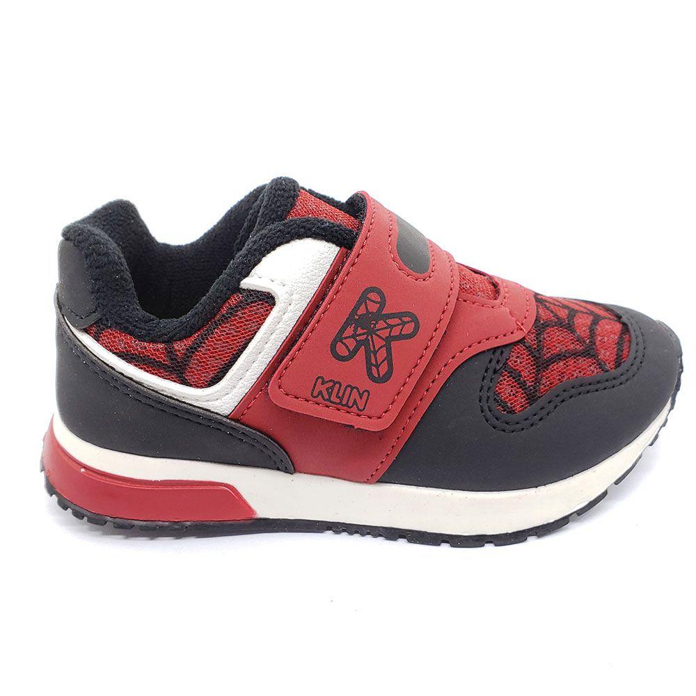 Tênis Infantil Menino Klin Baby Walk Aranha