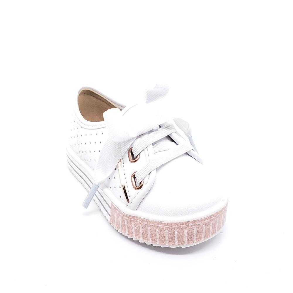 Tênis Infantil Molekinha Baby Laço 2131408