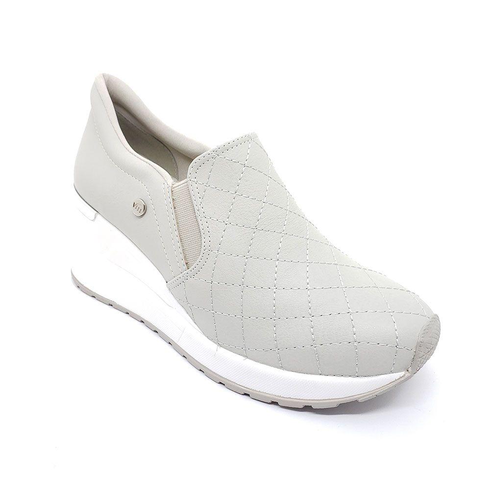 Tênis Sneaker Plataforma Slip On Via Marte