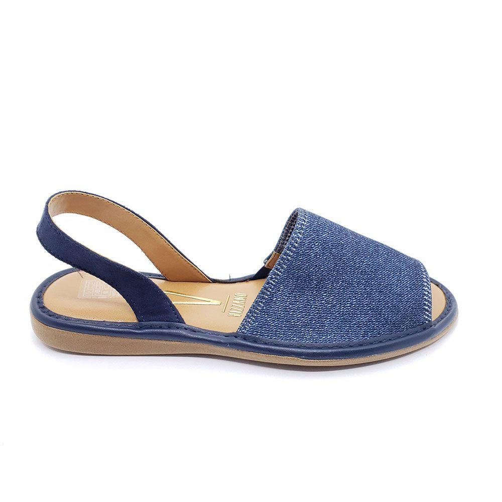 Sandália Rasteira Vizzano Jeans
