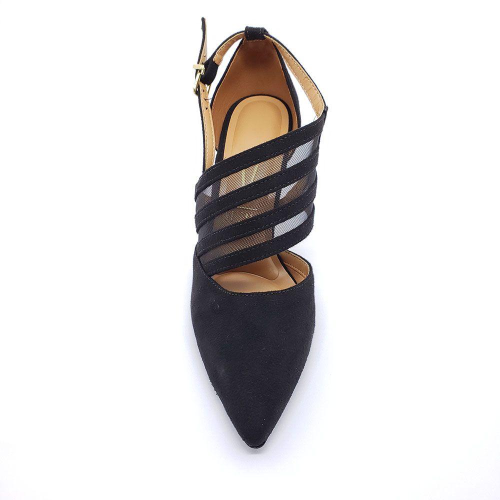 Sapato Scarpin Vizzano Tela