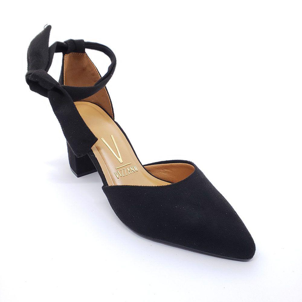 Sapato Vizzano Bico Fino Laço