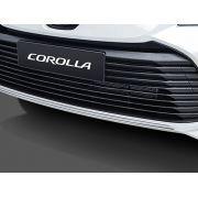 Aplique Cromado do Para-Choque Dianteiro New Corolla GLi XEi ALTIS