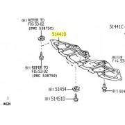 Cobertura inferior do Motor