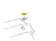 Válvula de ventilação Corolla e Fielder 2004 a 2008