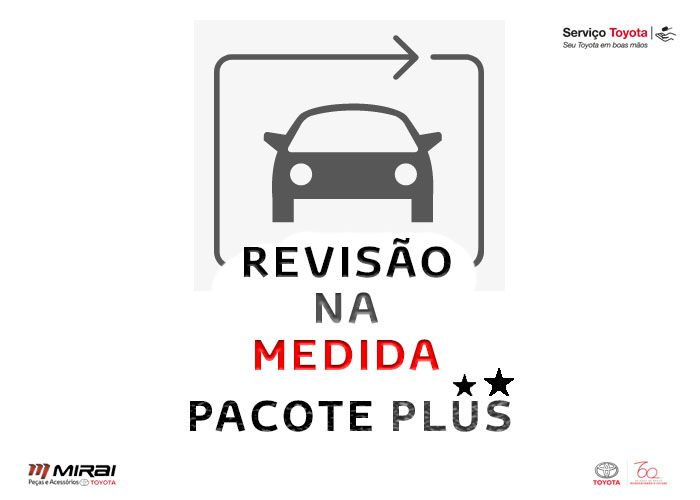 3 Revisões | Etios | Pacote Plus  - Mirai Peças Toyota