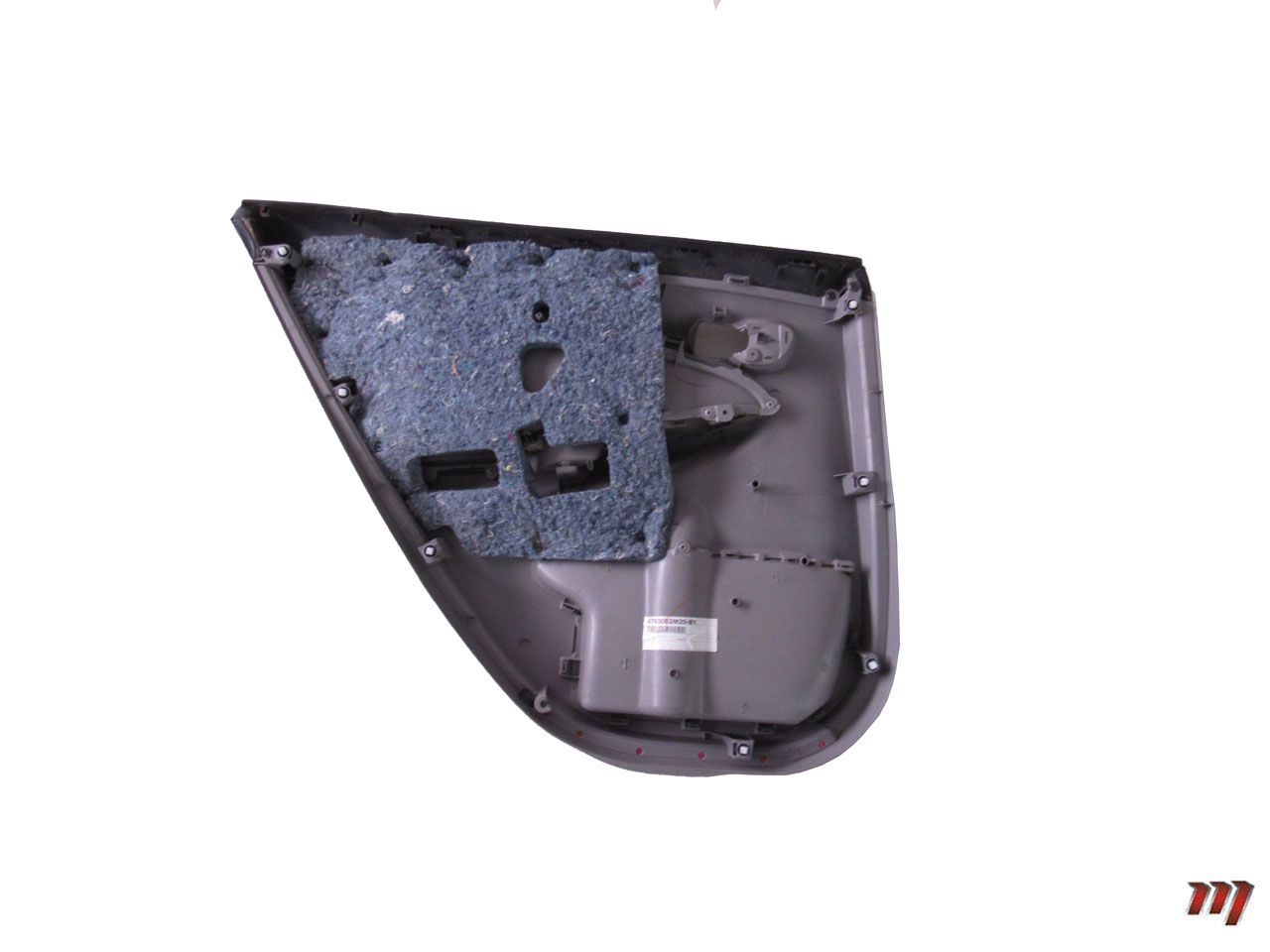 Acabamento da Porta Traseira Direita Corolla XEi 2011 a 2014  - Mirai Peças Toyota