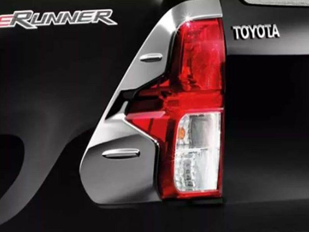 Aplique Cromado da Lanterna Hilux STD SR SRV SRX Cabine Simples  - Mirai Peças Toyota