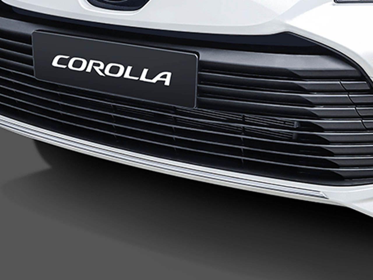 Aplique Cromado do Para-Choque Dianteiro New Corolla GLi XEi ALTIS  - Mirai Peças Toyota