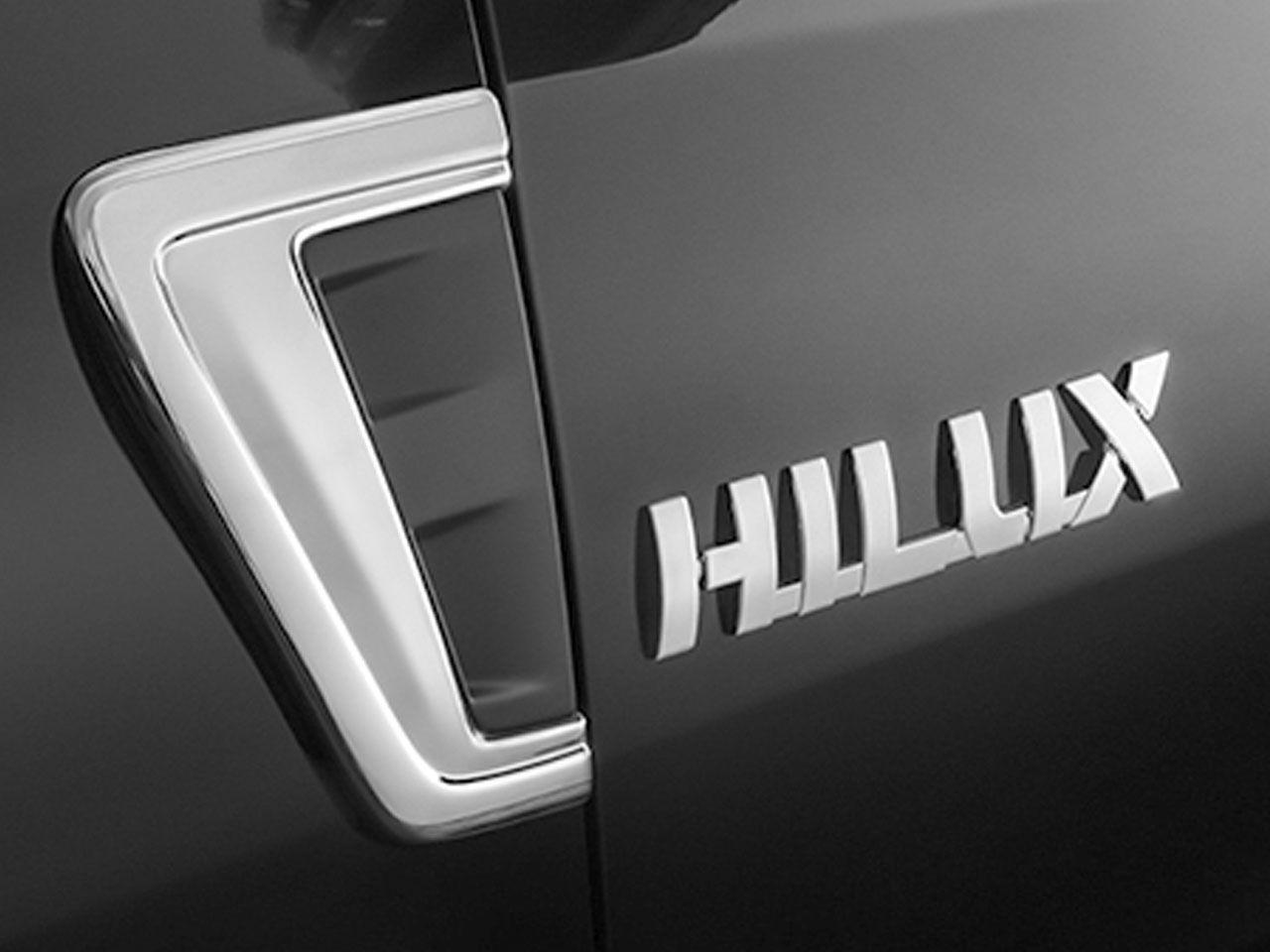 Aplique Cromado do Para-Lama Hilux STD SR SRV SRX GR-S  - Mirai Peças Toyota