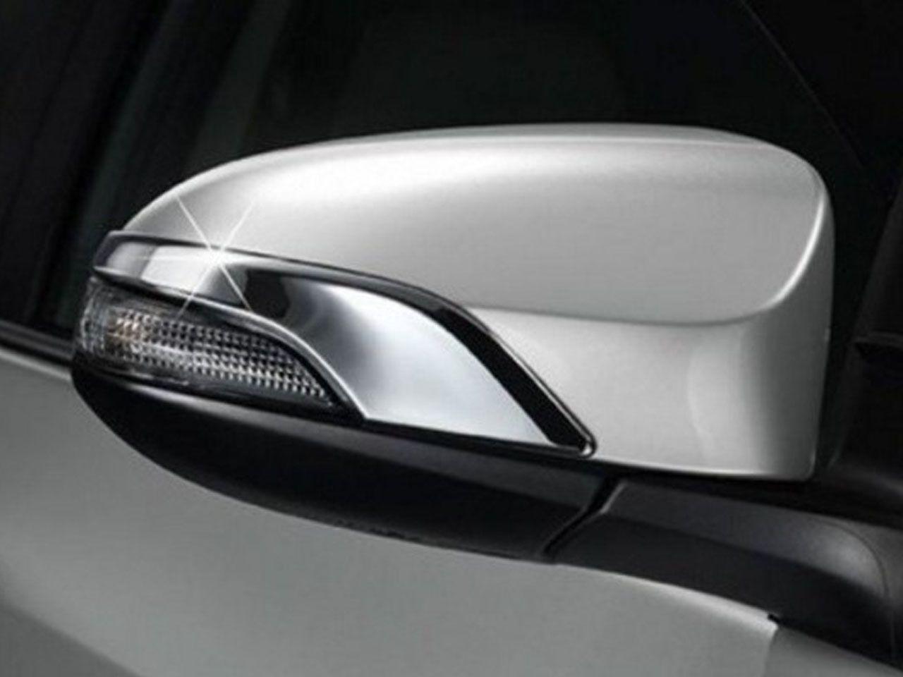 Aplique Cromado do Retrovisor Etios Sedã X  - Mirai Peças Toyota