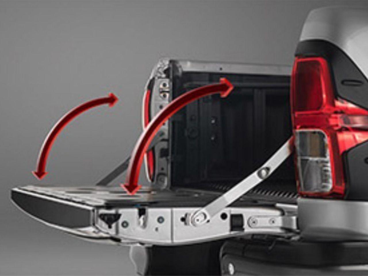 Assistente de Abertura de Caçamba Hilux STD SR SRV SRX Chassi Cabine Simples  - Mirai Peças Toyota