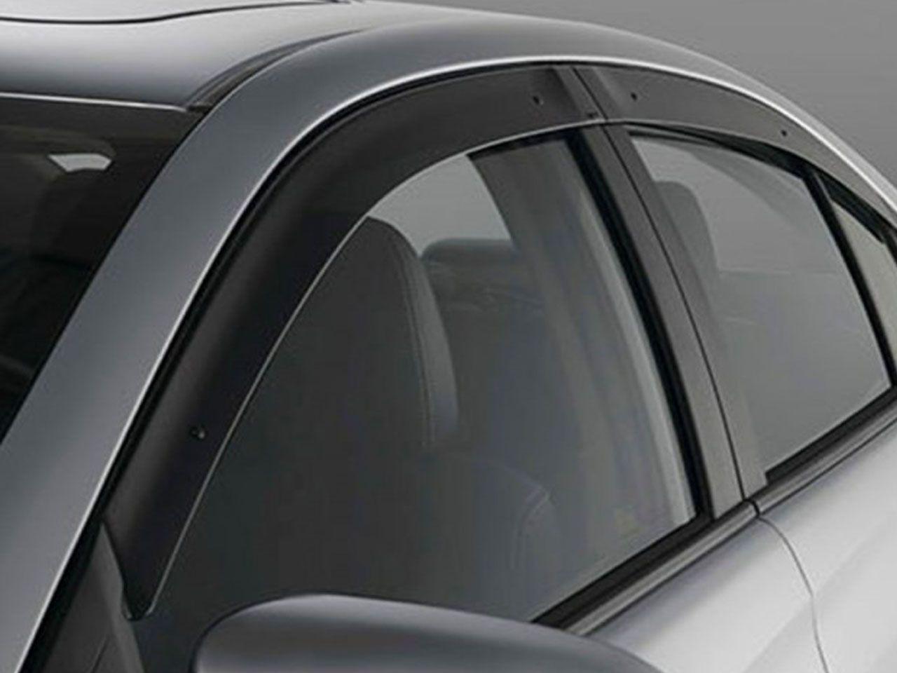 Calha de Chuva Yaris Sedã XL XS XLS  - Mirai Peças Toyota