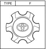 Calota  Cubo de Roda  - Mirai Peças Toyota