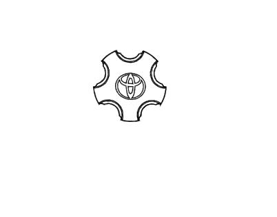 Calota de centro de Roda CAMRY  - Mirai Peças Toyota