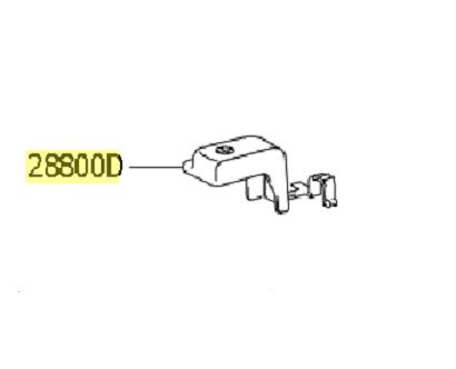 Capa plástico conector Bateria (terminal) RAV4  - Mirai Peças Toyota