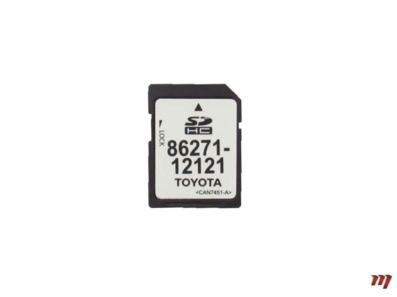 Cartão de Memória SD Hilux 2014 a 2015  - Mirai Peças Toyota
