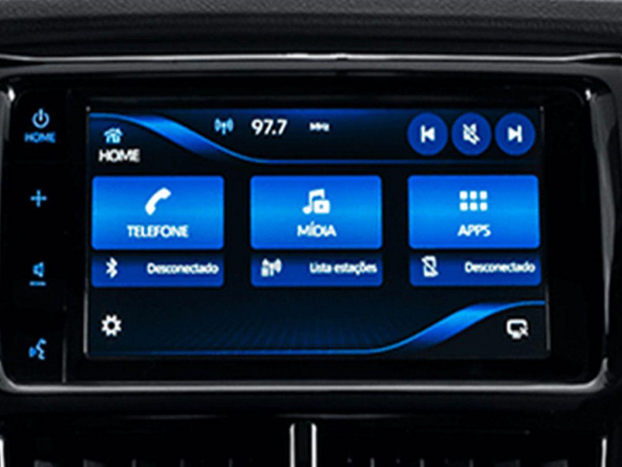 Central Multimídia Yaris Toyota Play+ Harman  - Mirai Peças Toyota