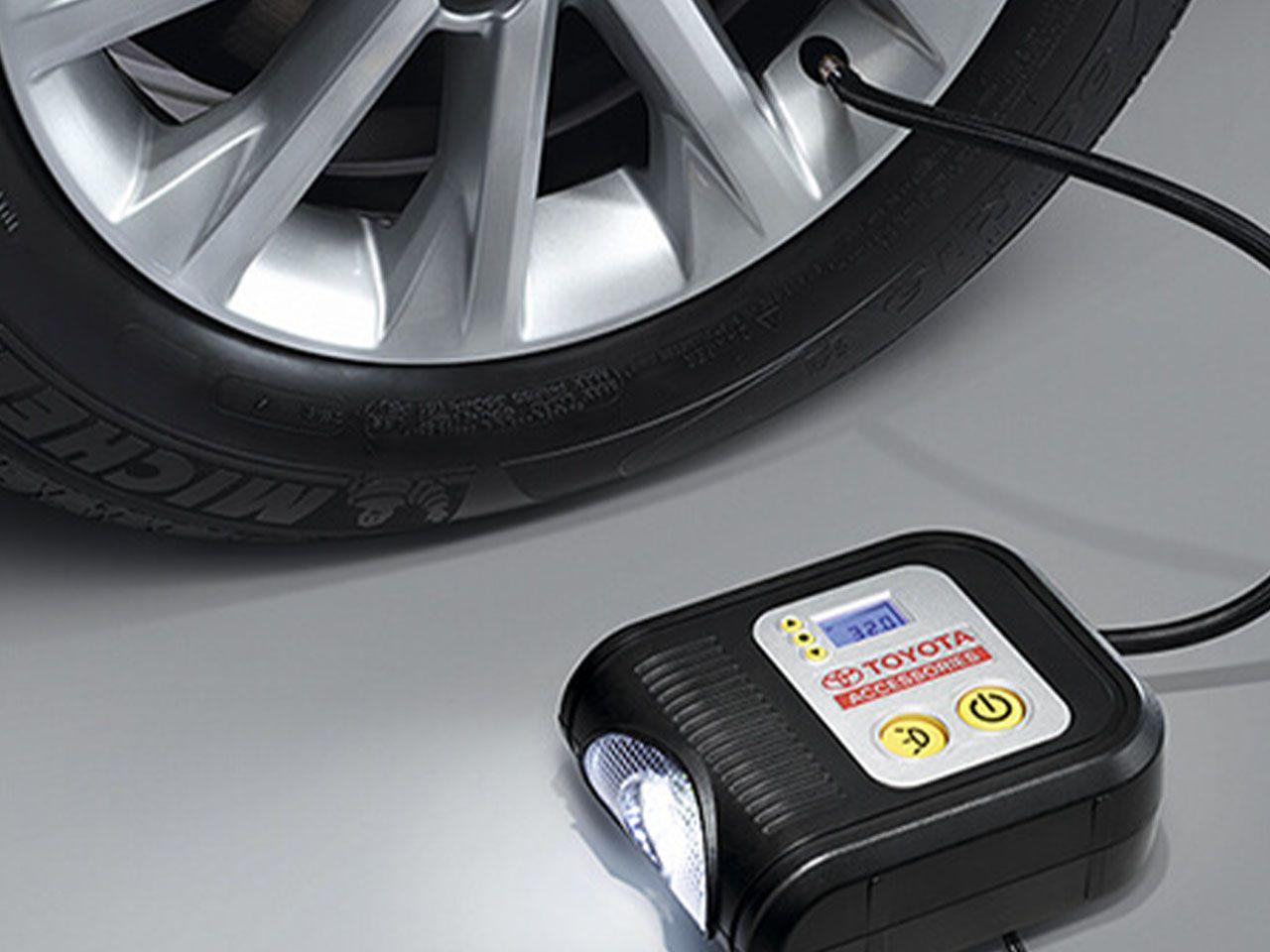 Compressor de Ar Digital 12V Digital New Corolla GLi XEi ALTIS  - Mirai Peças Toyota