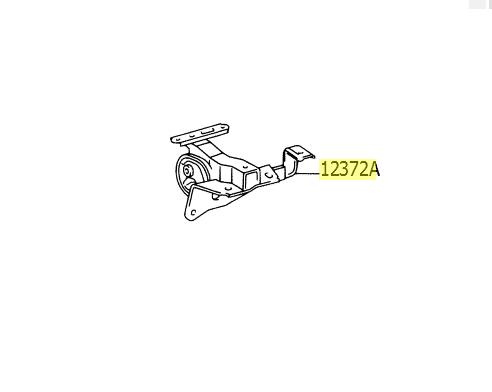 Coxim do motor lado esquerdo RAV4 2003 a 2005  - Mirai Peças Toyota