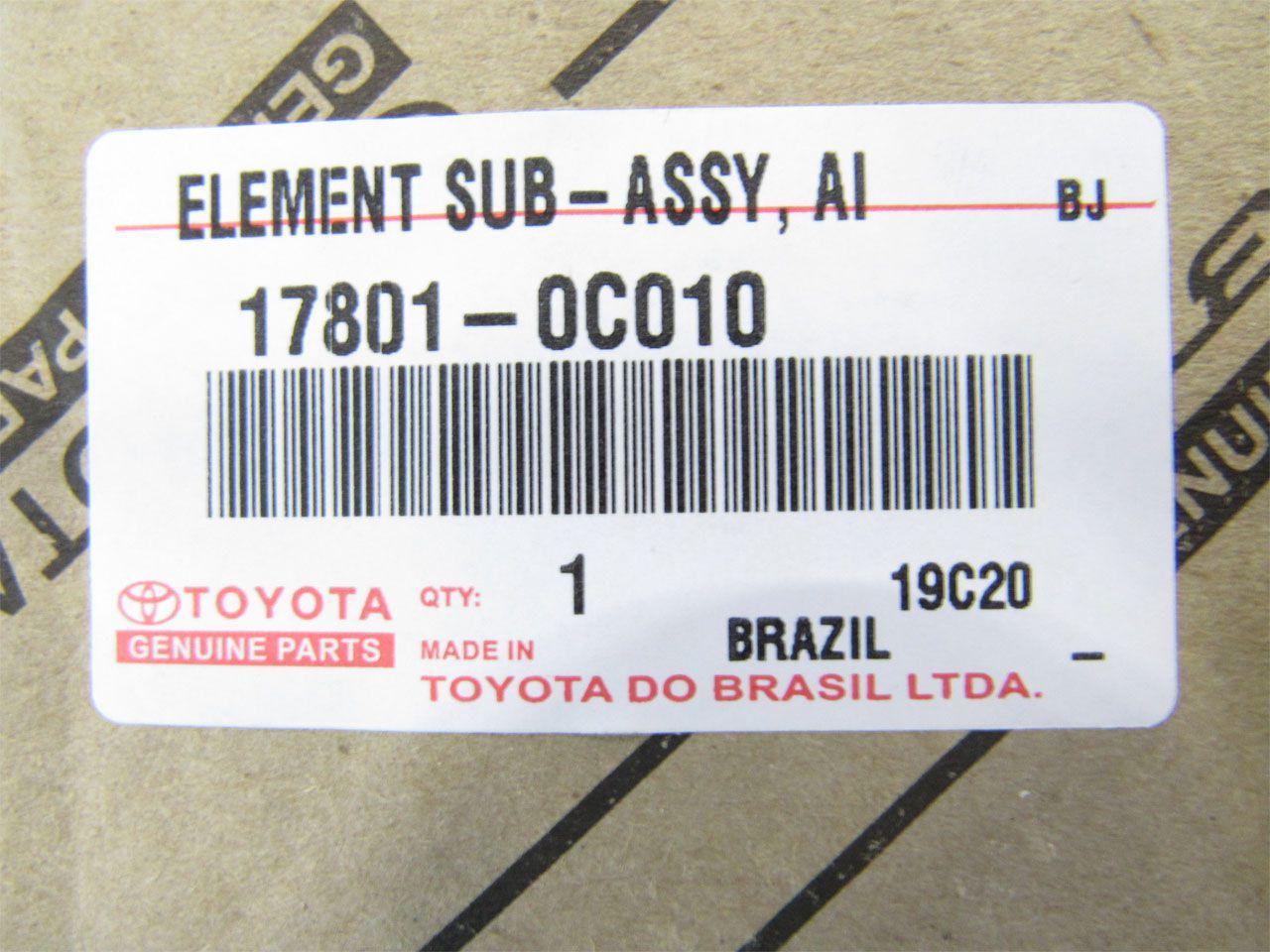 Filtro de Ar do Motor Hilux 2.0 2.5 2.7 2004 a 2016  - Mirai Peças Toyota