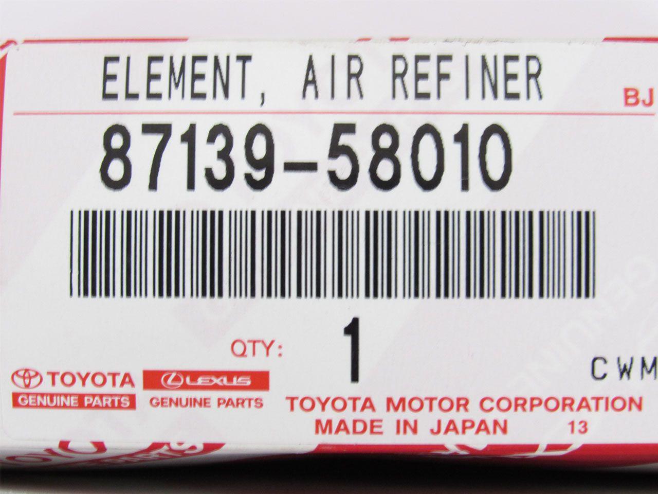 Filtro do Ar Condicionado c/ Carvão ativado SW4 2016 a 2019  - Mirai Peças Toyota